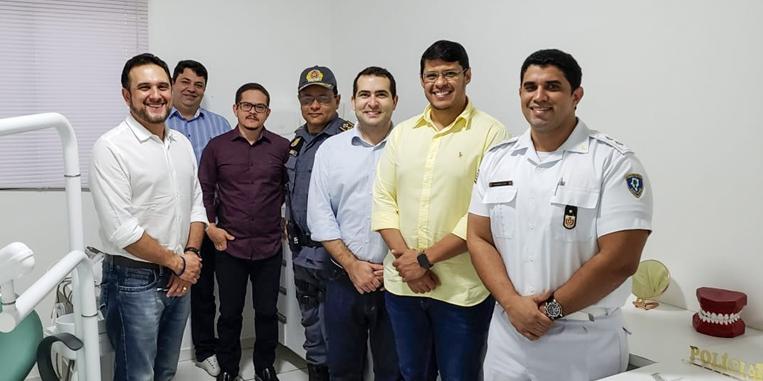 CRO-MA visita instalação do consultório da PM de Balsas