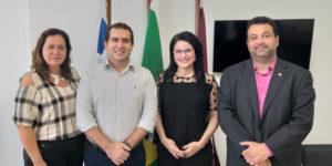Parlamentar recebeu Presidente do CRO-MA, Dr. Rafael Nunes e integrantes da comissão de Odontologia Hospitalar e PNE