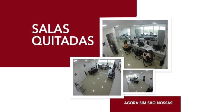 Salas Quitadas- A atual gestão do CRO-MA antecipou e quitou os débitos referentes as salas da sede de São Luís.